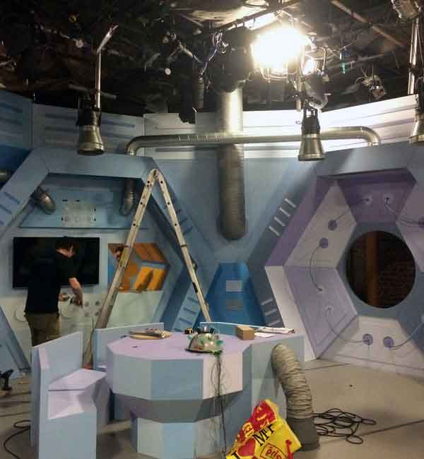 Set construction for RTE Let's find out - Triangle productions